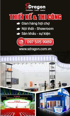 Thiết kế và thi công gian hàng triển lãm hội chợ